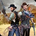 Western Cowboy Gun Shooting Fighter Open World icon