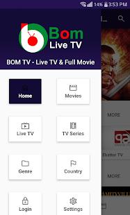 Bom TV - Bom Live TV & Full Movie for PC / Windows 7, 8, 10 / MAC