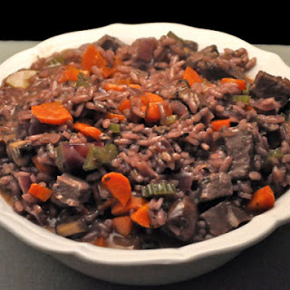 Venison, Carrot, Red Wine Risotto Recipe