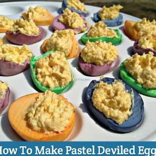 How To Make Pastel Deviled Eggs
