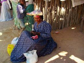 Photo: Herero dans le Damaraland en Namibie