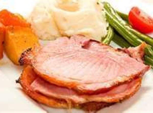 Cover and cook in slow cooker, 6-8 hrs or til done.(Your ham will season...