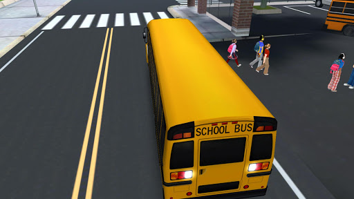 Super High School Bus Driving Simulator 3D - 2019 1.4 screenshots 4