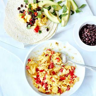 Mexican Scrambled Eggs.