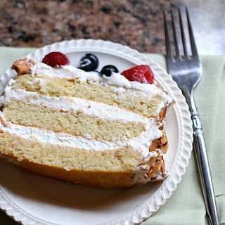 Almond Muchas Leches Cake
