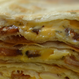 Chicken Bacon Ranch Quesadilla.