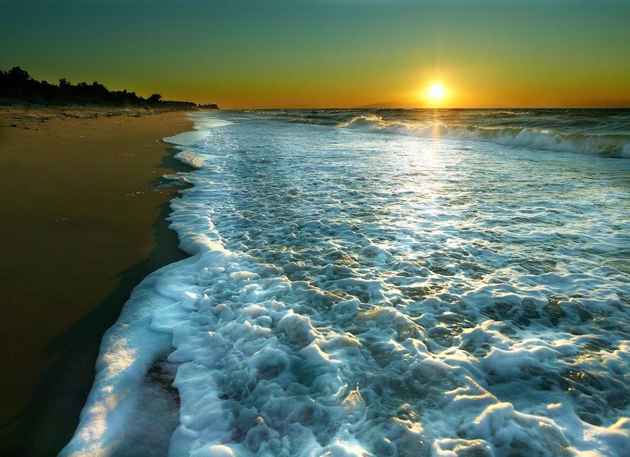 Bousoulas Beach by Fokion Zissiadis - Landscapes Sunsets & Sunrises (  )