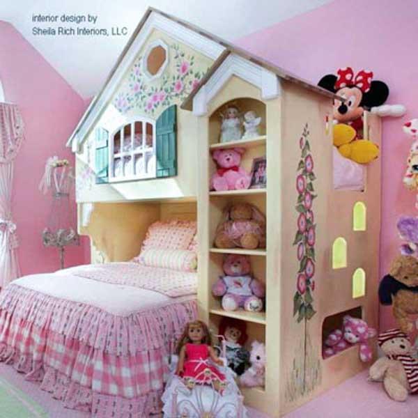 Doll house design idea android apps on google play for Dollhouse bedroom ideas