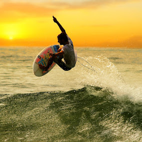 Little Jump by Alit  Apriyana - Sports & Fitness Surfing