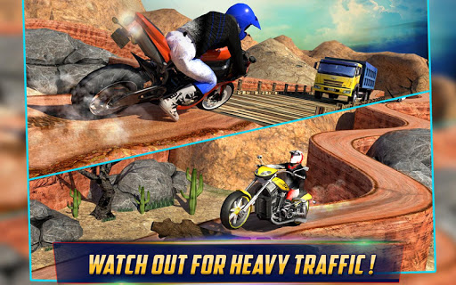 Crazy Offroad Hill Biker 3D screenshot 07