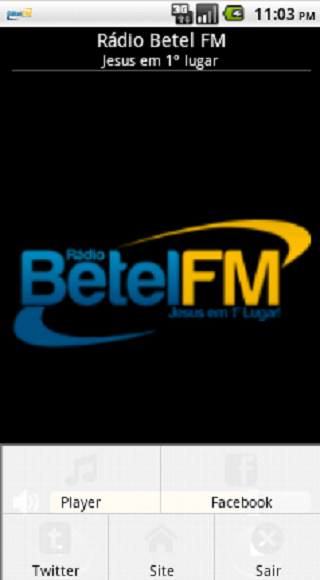 Rádio Betel FM- screenshot