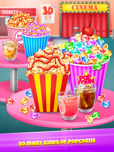 Popcorn Maker - Yummy Rainbow Popcorn Food 1.4 screenshots 1