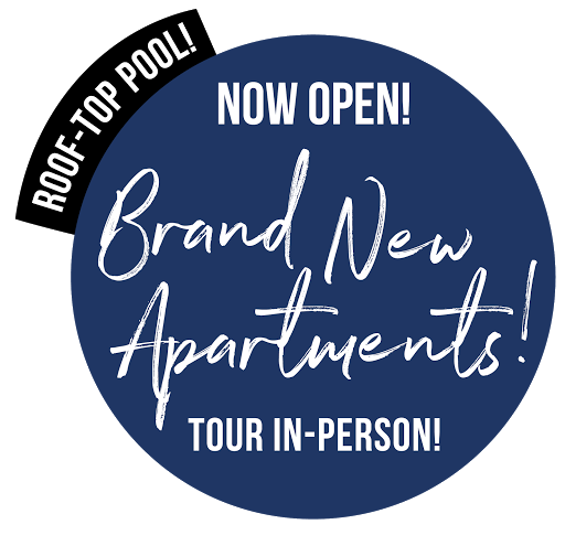 Brand New Apartments + Roof-Top Pool + Now Open