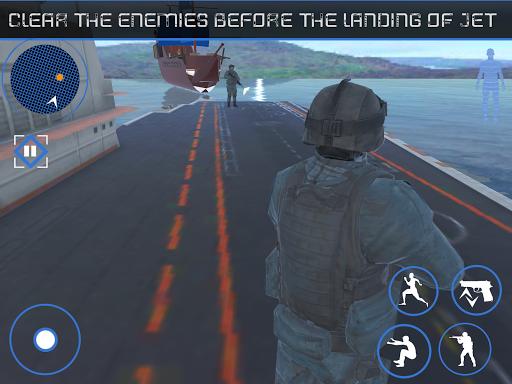 Blazing Sniper Commando: Attaque terroriste marine  captures d'écran 2