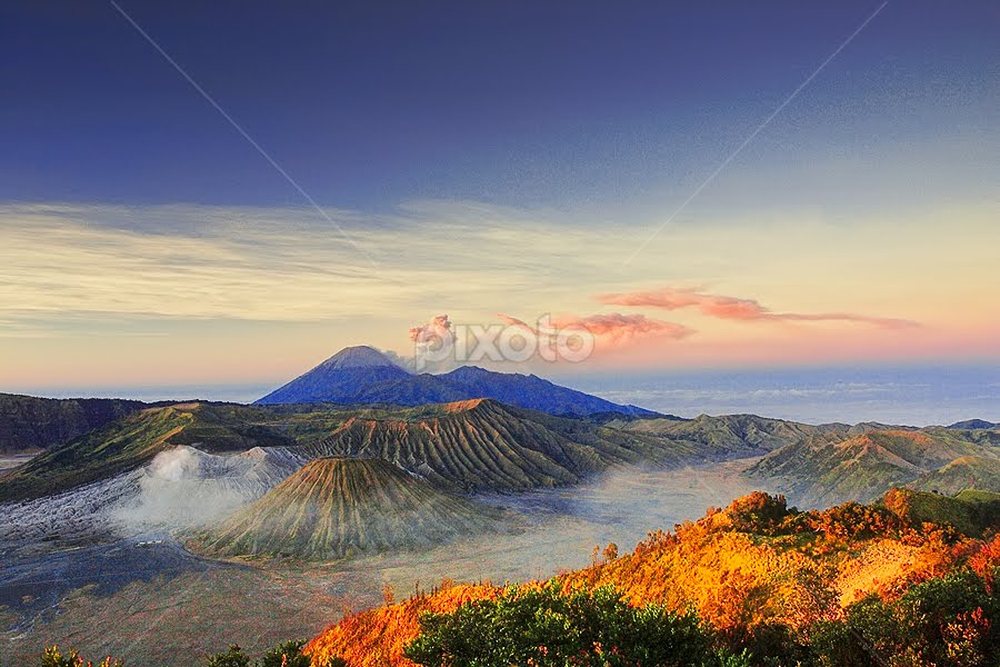 mysterious mountain by Eko Sumartopo - Landscapes Mountains & Hills