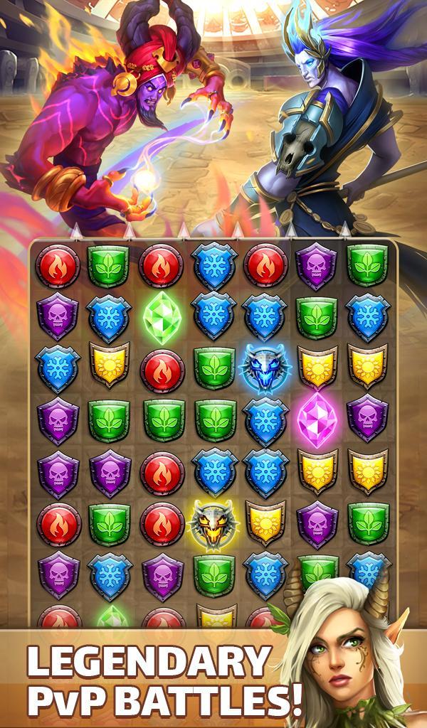 Empires & Puzzles: RPG Quest Screenshot 16