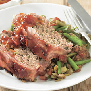Chutney Glazed Meatloaf.