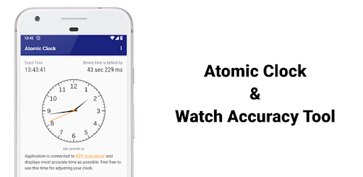 Atomic Clock & Watch Accuracy Tool (with NTP Time) - Apps on