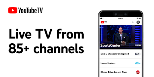 YouTube TV - Watch & DVR Live Sports, Shows & News
