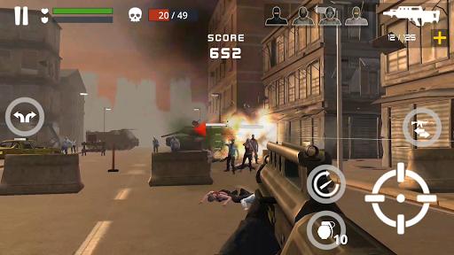 Télécharger Dead Zombie Battle : Zombie Defense Warfare APK MOD (Astuce) screenshots 3