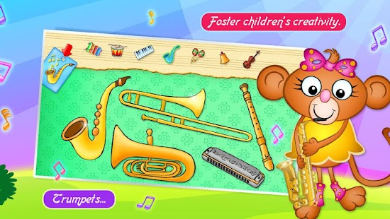 123 Kids Fun MUSIC Games Free- screenshot thumbnail