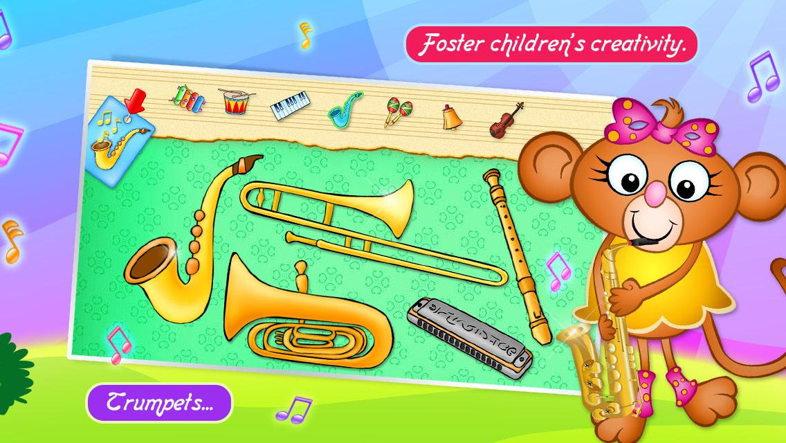123 Kids Fun MUSIC Games Free- screenshot