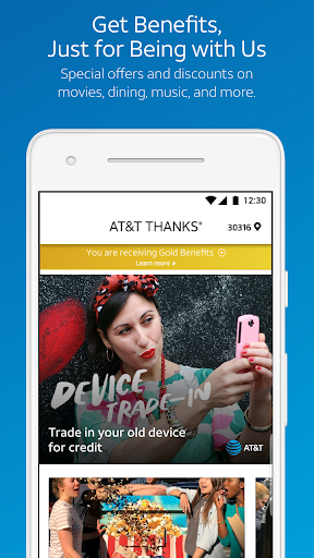 Screenshot for AT&T THANKS® in United States Play Store