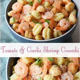Tomato & Garlic Shrimp Gnocchi