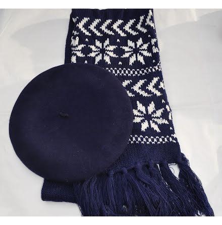 Blå halsduk