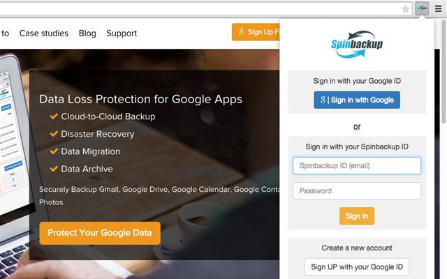 Spinbackup - Backup for Google Apps™