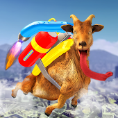Jetpack Goat City Rampage Simulator 2019 Android APK Download Free By Freaking Games