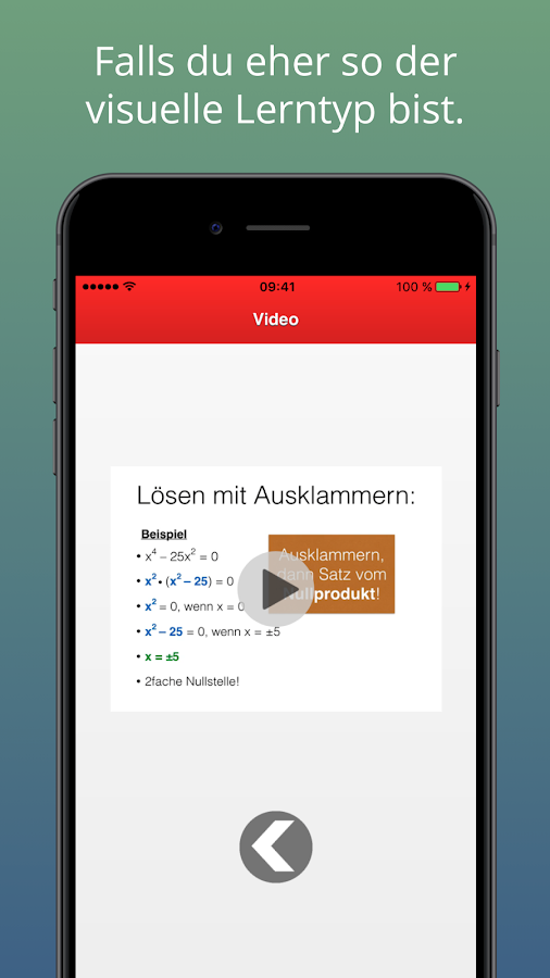 Mathe-VollLogo Lite – Screenshot