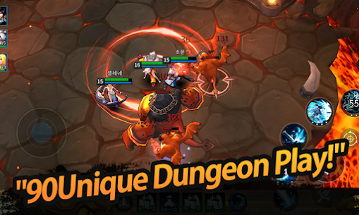 League of Masters: Legend PvP MOBA Apk Download For Android and Iphone 4