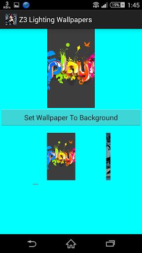 Z3 Lighting Wallpapers