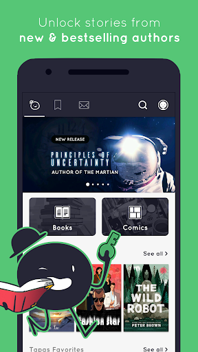 玩免費書籍APP|下載Tapas – Books, Comics, Stories app不用錢|硬是要APP