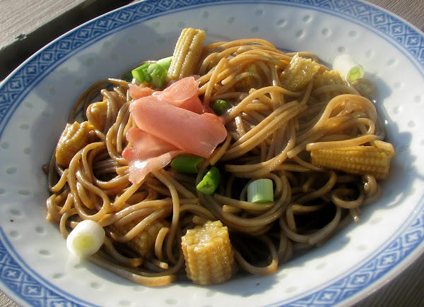Soba Noodles With Wasabi And Baby Corn Recipe