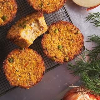 Easy & Healthy Savory Veggie Muffins.