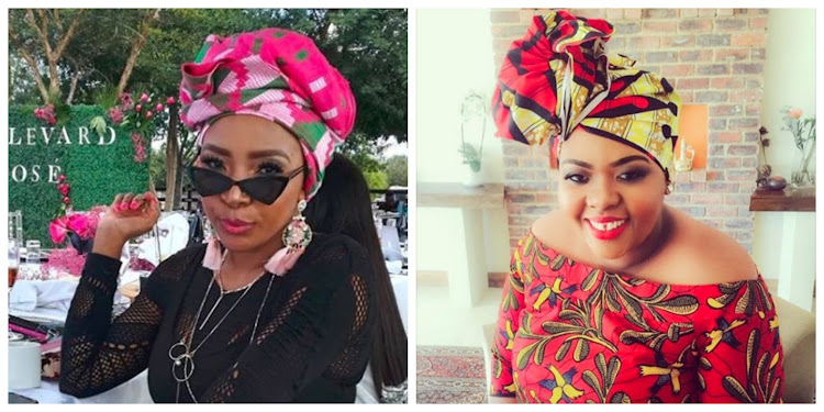 Uyanda Mdlluli and Anele Mdoda got into a heated twar on Tuesday.