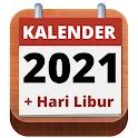 Kalender Indonesia 2021 Lengkap Hari Libur icon