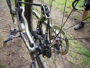 Photo: Der Kabelbinder ist und bleibt halt des Biker`s bester Freund !!