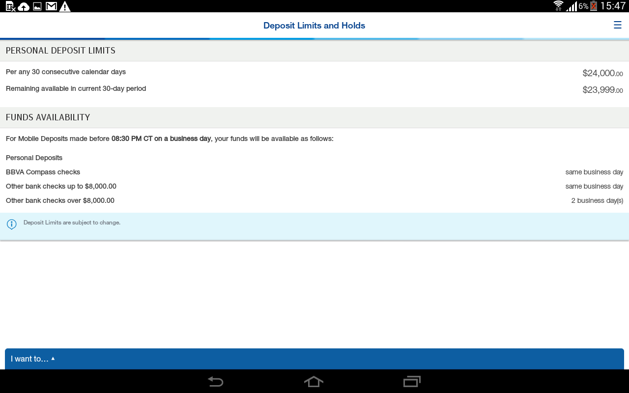 Bbvapass Banking Screenshot