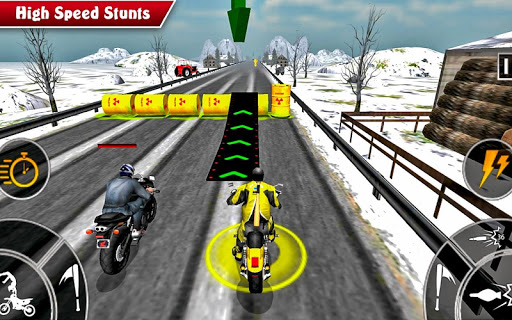Moto Bike Attack Race 3d games 1.4.2 screenshots 7