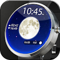 Moon Phase Lunar Watch Face icon