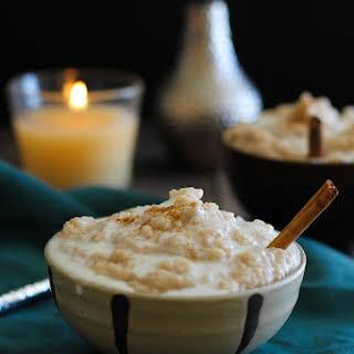 Crock Pot Rice Pudding (Vegan and Naturally Sweetened).
