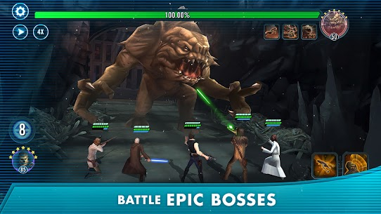 Download Star Wars: Galaxy of Heroes Android Star Wars role-playing game + mod 3