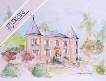 Château 18 pièces 600 m2