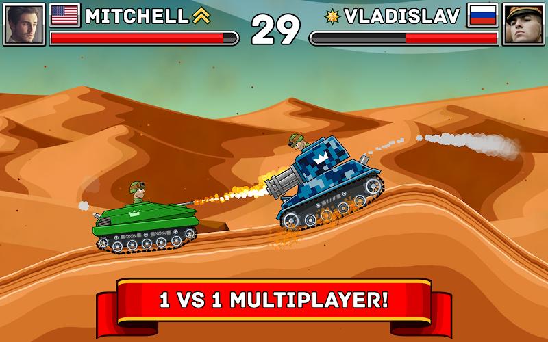 Hills of Steel Screenshot 5