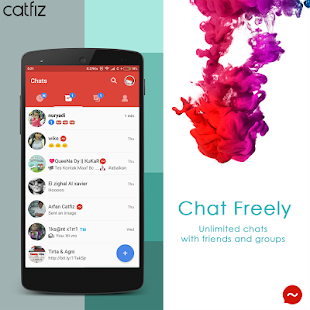 Catfiz Messenger- screenshot thumbnail