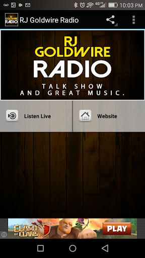 RJ Goldwire Radio