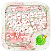 The Flowers GO Keyboard Theme